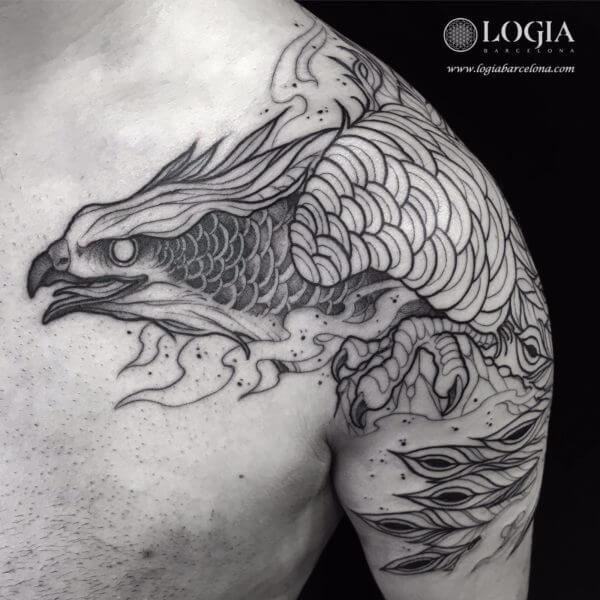 El Ave Fénix De La Mitología Egipcia Bennu Tatuajes Logia Barcelona