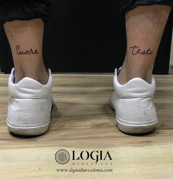 Cabeza y corazón: Tatuajes sobre la dualidad