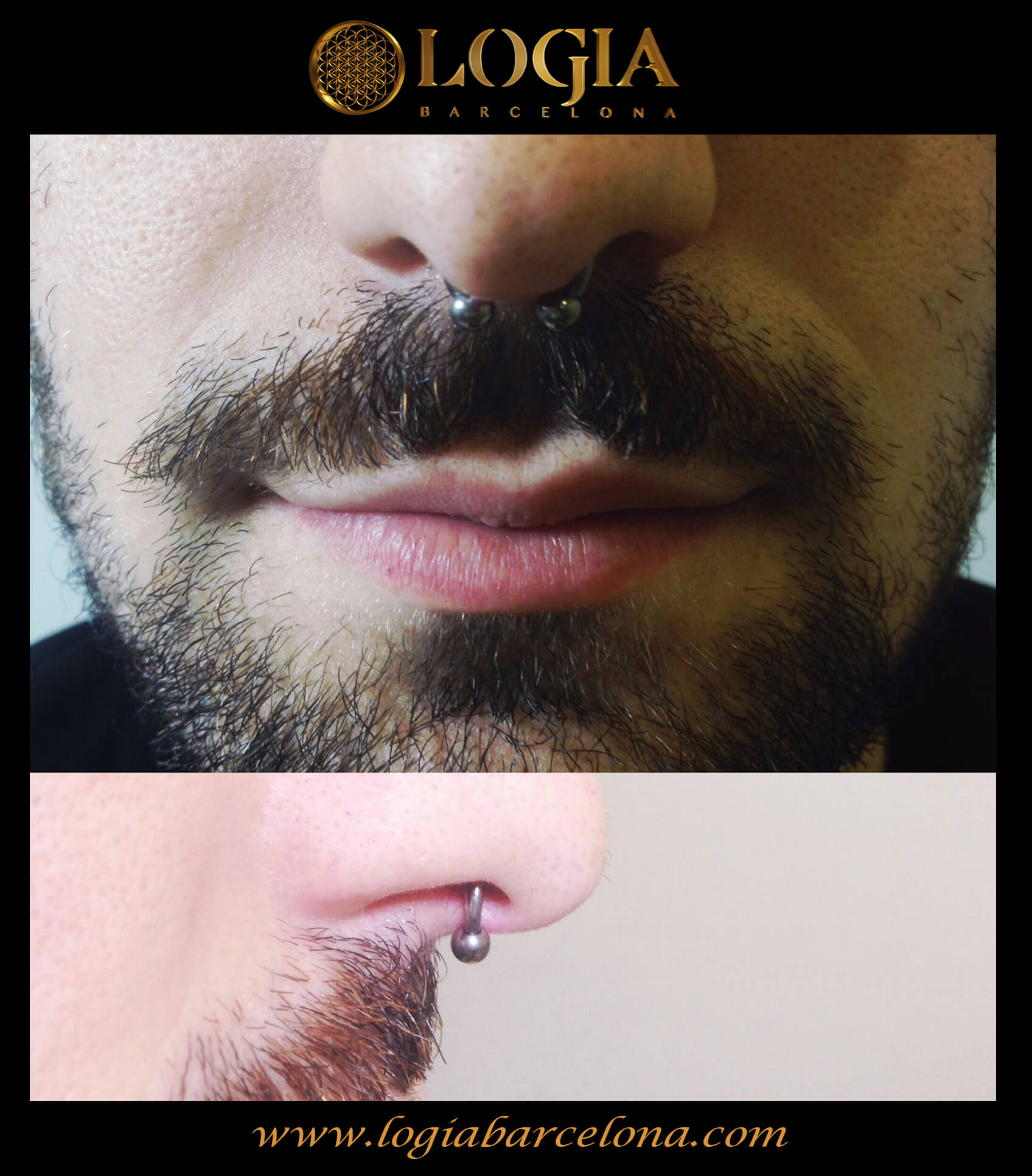 Piercing septum Logia Barcelona