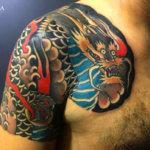 Magia y mito, los mejores tatuajes de dragones