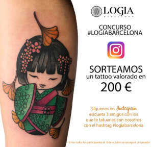 tatuaje logia barcelona concurso instagram