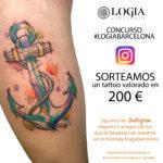¡Concurso Logia Barcelona! Sorteamos un tatuaje en Instagram