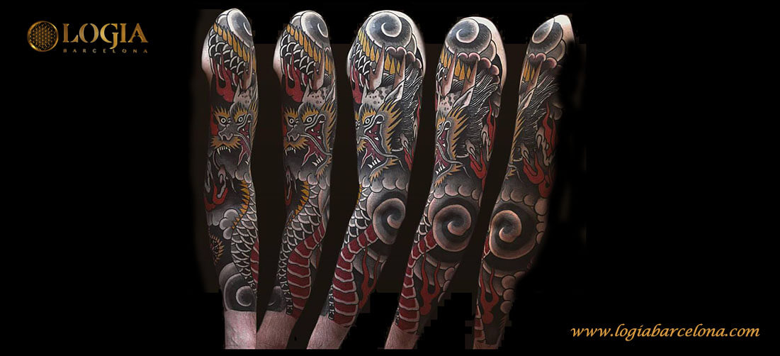 Tattoo Brazo Hombre Japones las claves del tatuaje tradicional japonés - | tatuajes logia barcelona