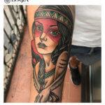 Belleza y tradición de los tatuajes de indias