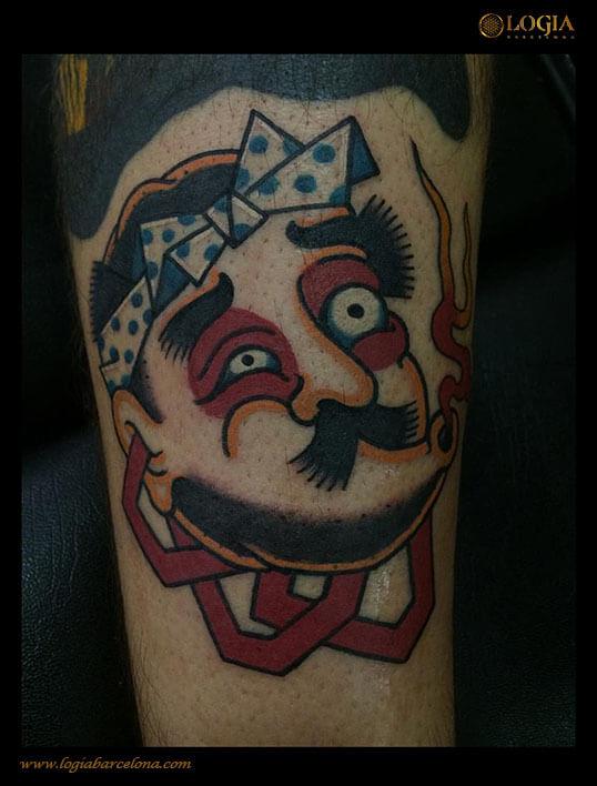 tatuaje hyottoko japones logia barcelona lelectric