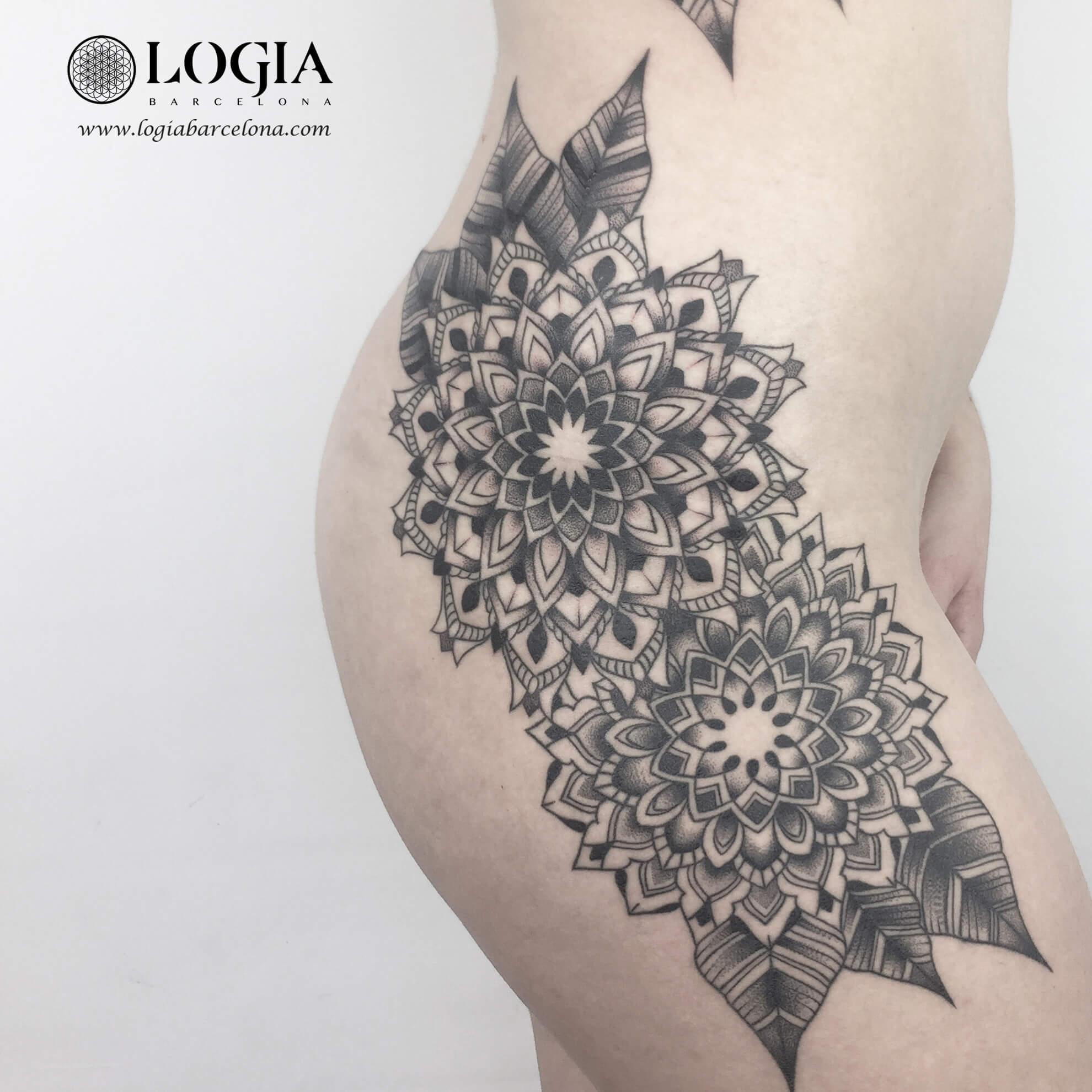 Tatuajes De Cintura A Pierna Inspírate Tatuajes Logia Barcelona