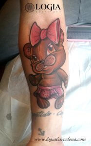 tatuaje brazo logia barcelona zoombie