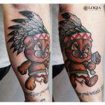 Los más simpáticos ¡Tatuajes de peluches!