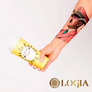 tatuaje brazo cabronazi logia barcelona