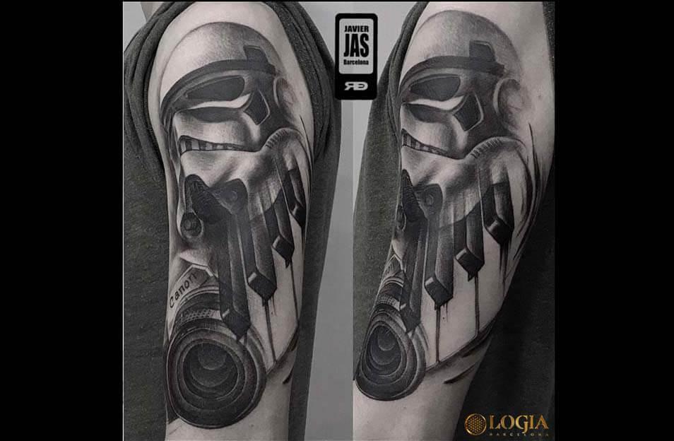 Tatuajes de Star Wars, de 'Una nueva esperanza' a 'Los últimos Jedi'