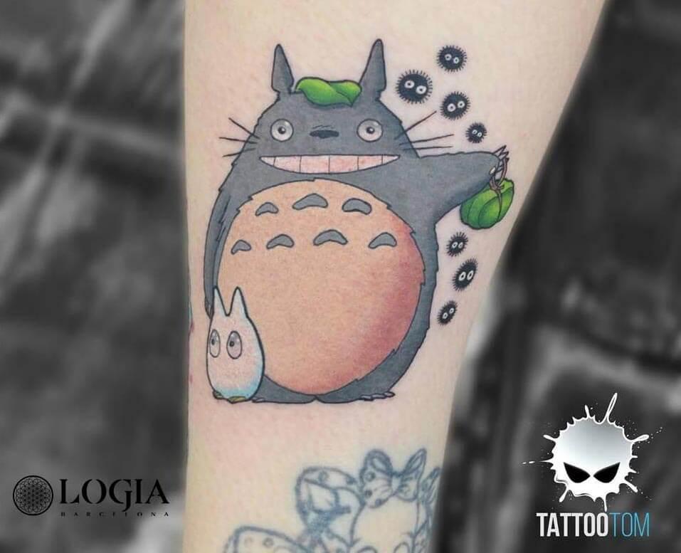Los mejores tatuajes de Studio Ghibli ¡Imaginación al poder!