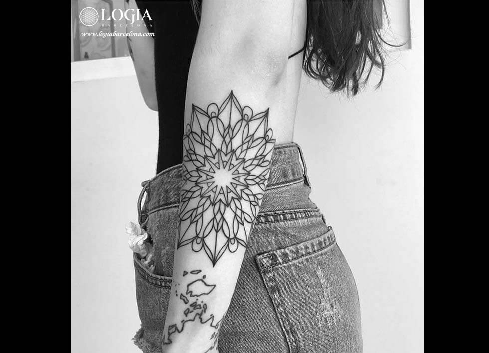 ¿Te gustan los tatuajes de mandalas?