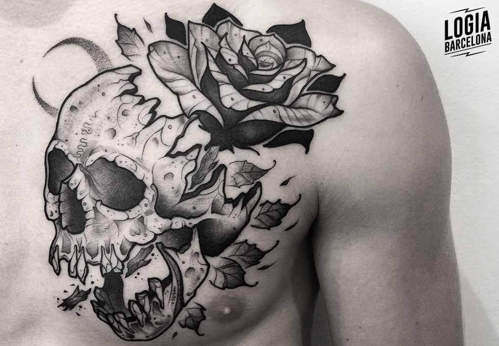 Tatuajes De Calaveras Diseños De Tatuajes Logia Tattoo Barcelona