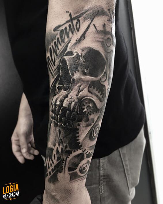ᐅ Los Mejores Tatuajes De Calaveras Logia Tattoo Barcelona