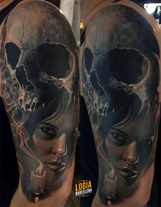 ᐅ Mejores Tatuajes De Calaveras Amplia Gama De Diseños Logia Tattoo