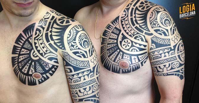 Tatuajes en el hombro para hombre y mujer