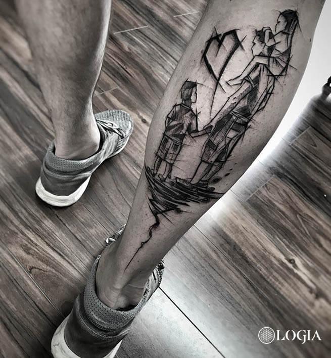 tatuajes sketch logia barcelona janiak