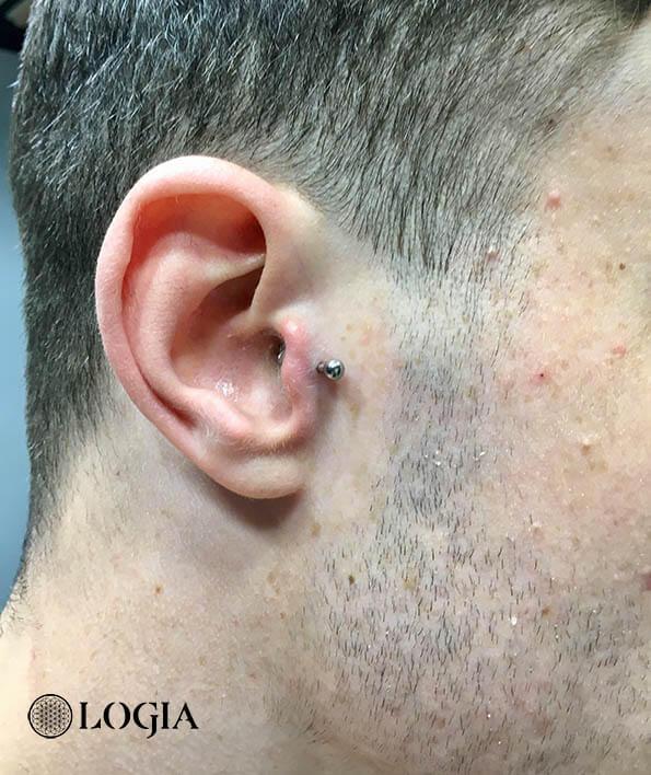 Piercing tragus logia barcelona danny ronin