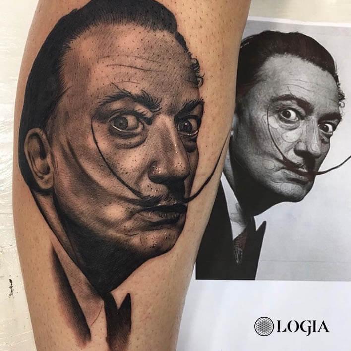 tatuaje antebrazo dali logia barcelona Annie Blesok