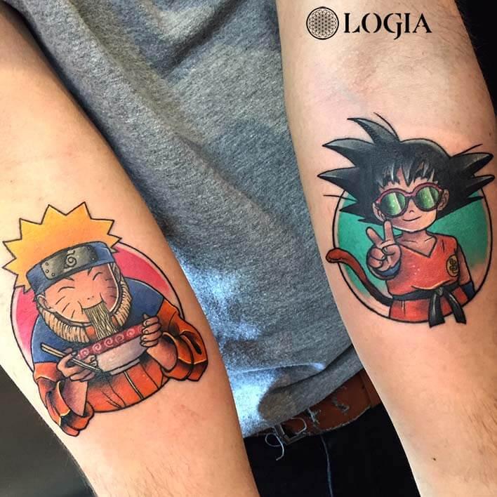 tatuaje manga antebrazo salamone
