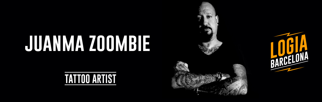Tattoo Artist Juanma Zombie Logia Barcelona