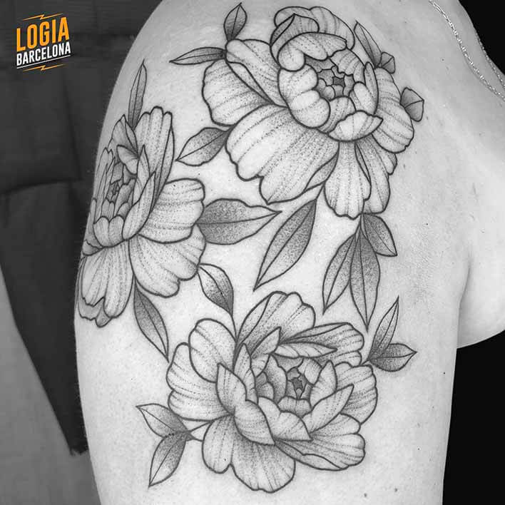 Ombro Tattoo Ferran Tower Lodge Barcelona