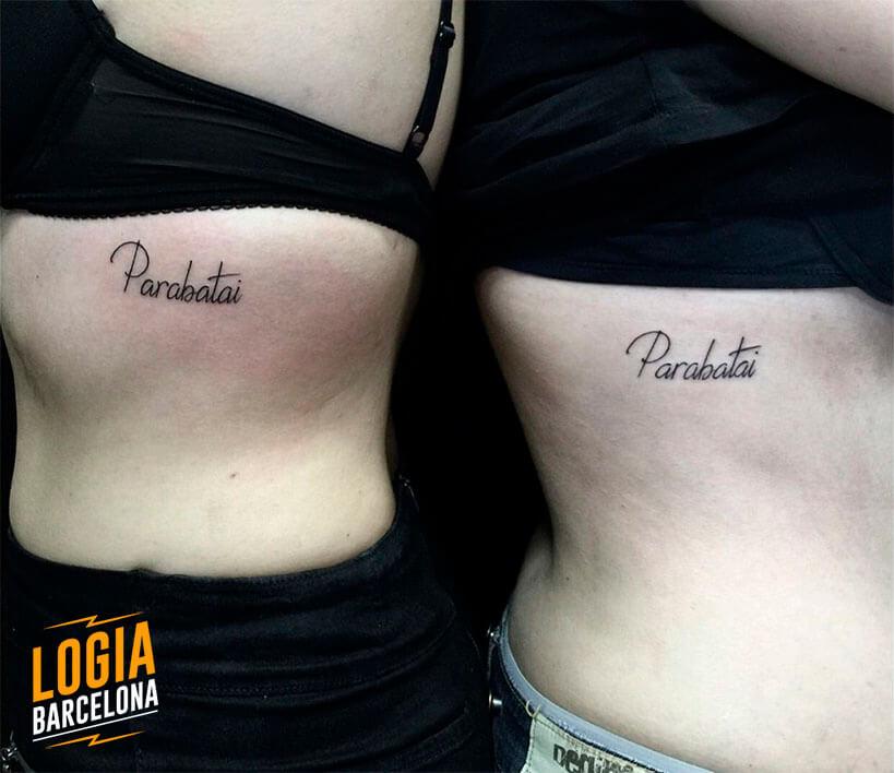 tatuaje parejas frases lettering