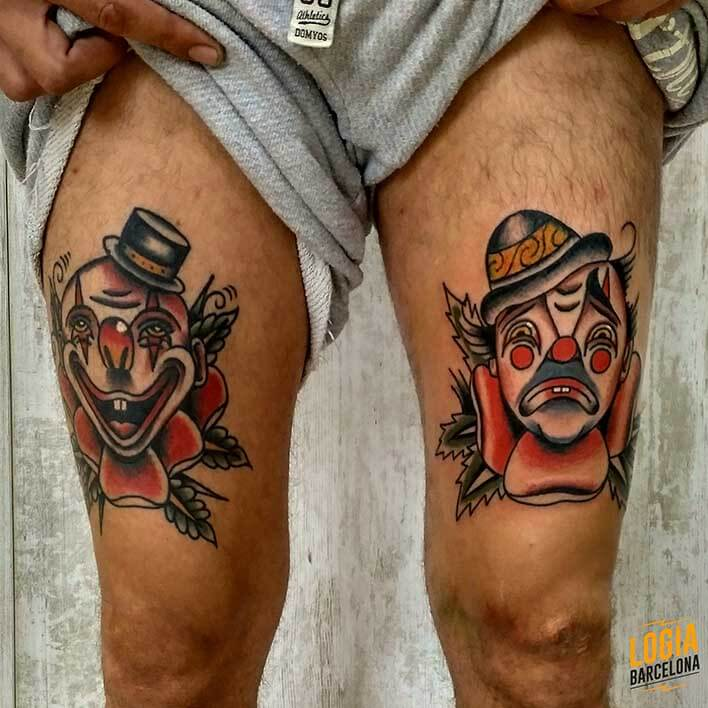 tatuaje tradicional americano logia barcelona julio herrero