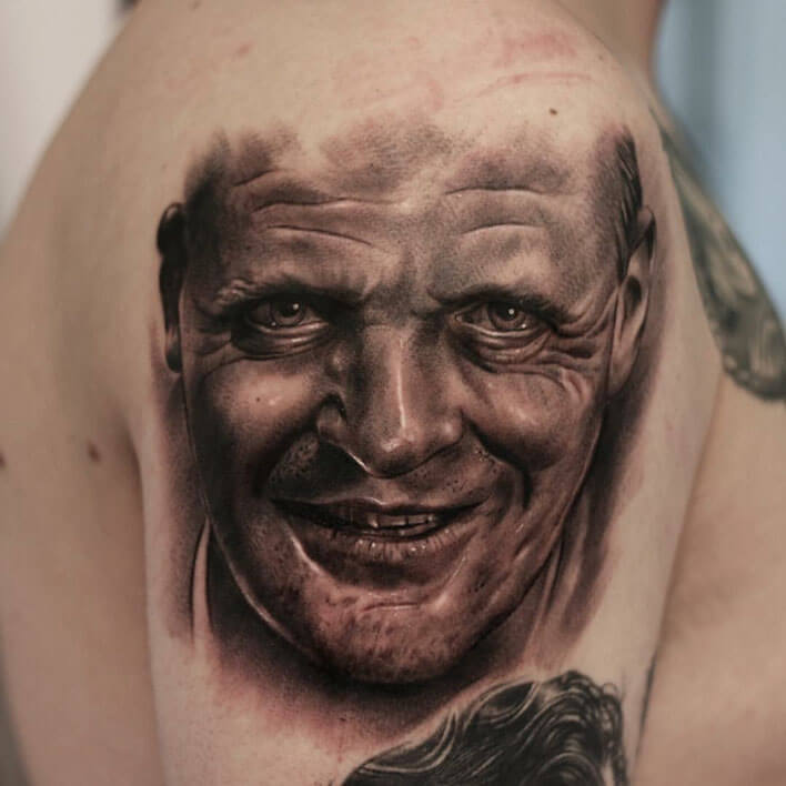Alessandro Modesti tattoo logia Web