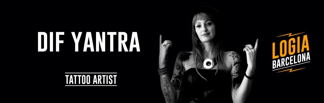 Tatuadora Dif Yantra Logia Barcelona