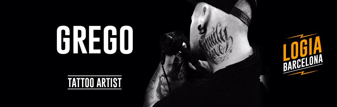Tatuador Grego Logia Barcelona