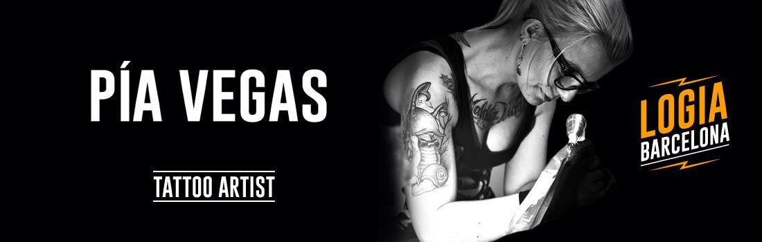 Tattoo Artist Pia Vegas Logia Barcelona