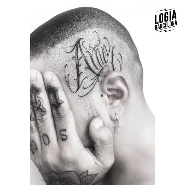 Letras para tatuajes, diferentes tipografías