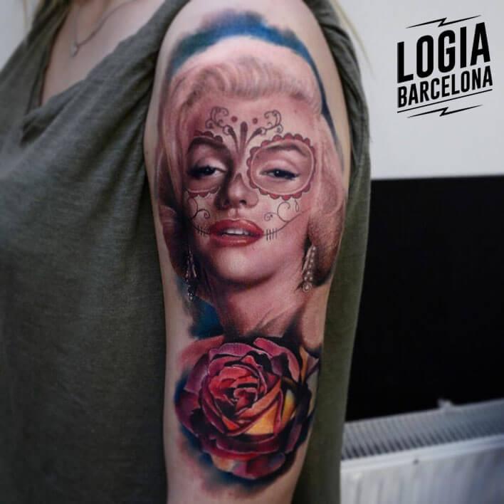 tatuaje marilyn monroe tatuador karol rybakowski
