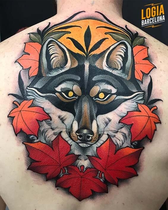 lobos tatuajes