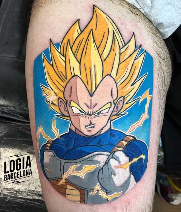 tatuaje_superguerrero_vegeta_dragonball_logia_barcelona_negative