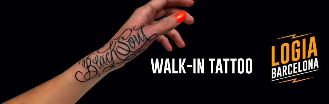 Walk In Tattoo Logia Barcelona