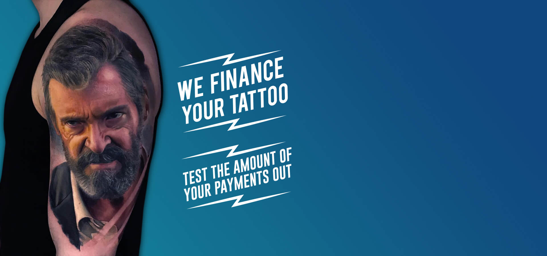 We finance your tattoo