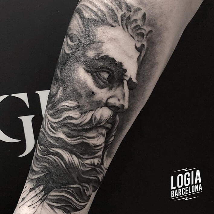 Tatuajes De Zeus Logia Tattoo Barcelona Arm tattoos mythology tattoos zeus tattoos. tatuajes de zeus logia tattoo barcelona
