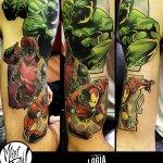 Tatuajes de Los Vengadores