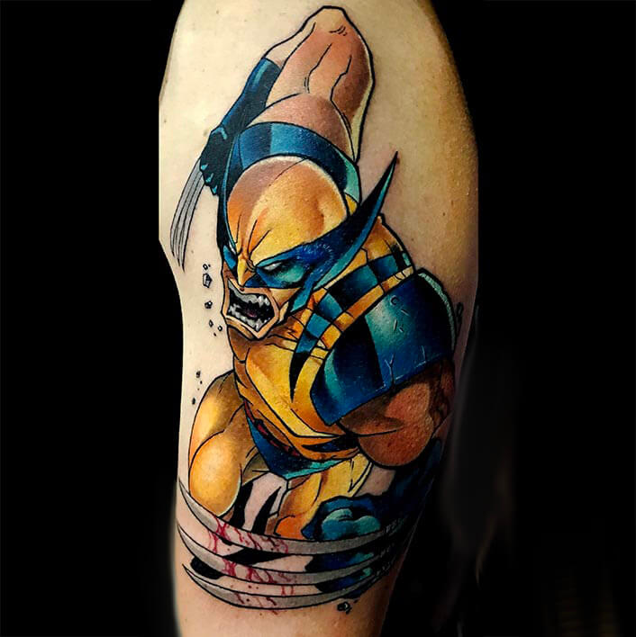 tatuaje_wolverine_web_maxi_paint_logia_barcelona