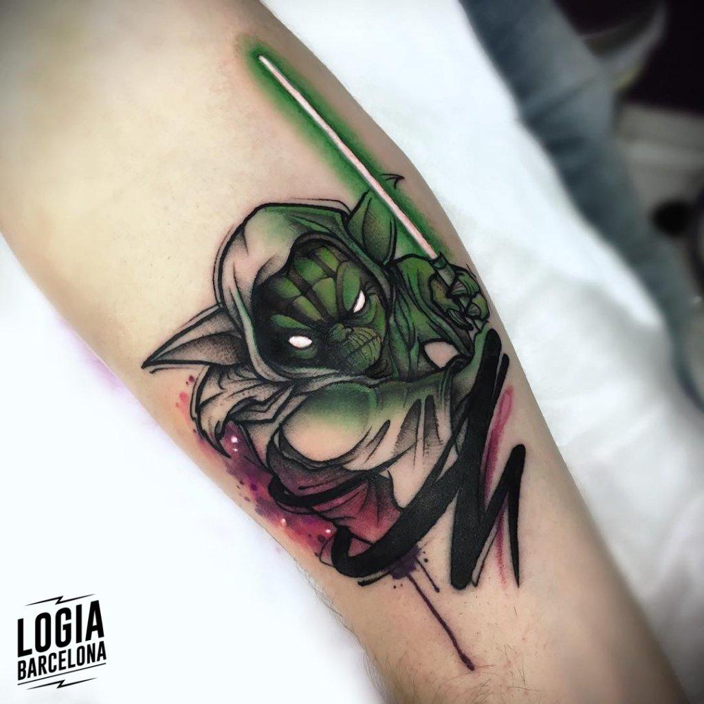 mejores tatuadores barcelona - logia tattoo Yeik