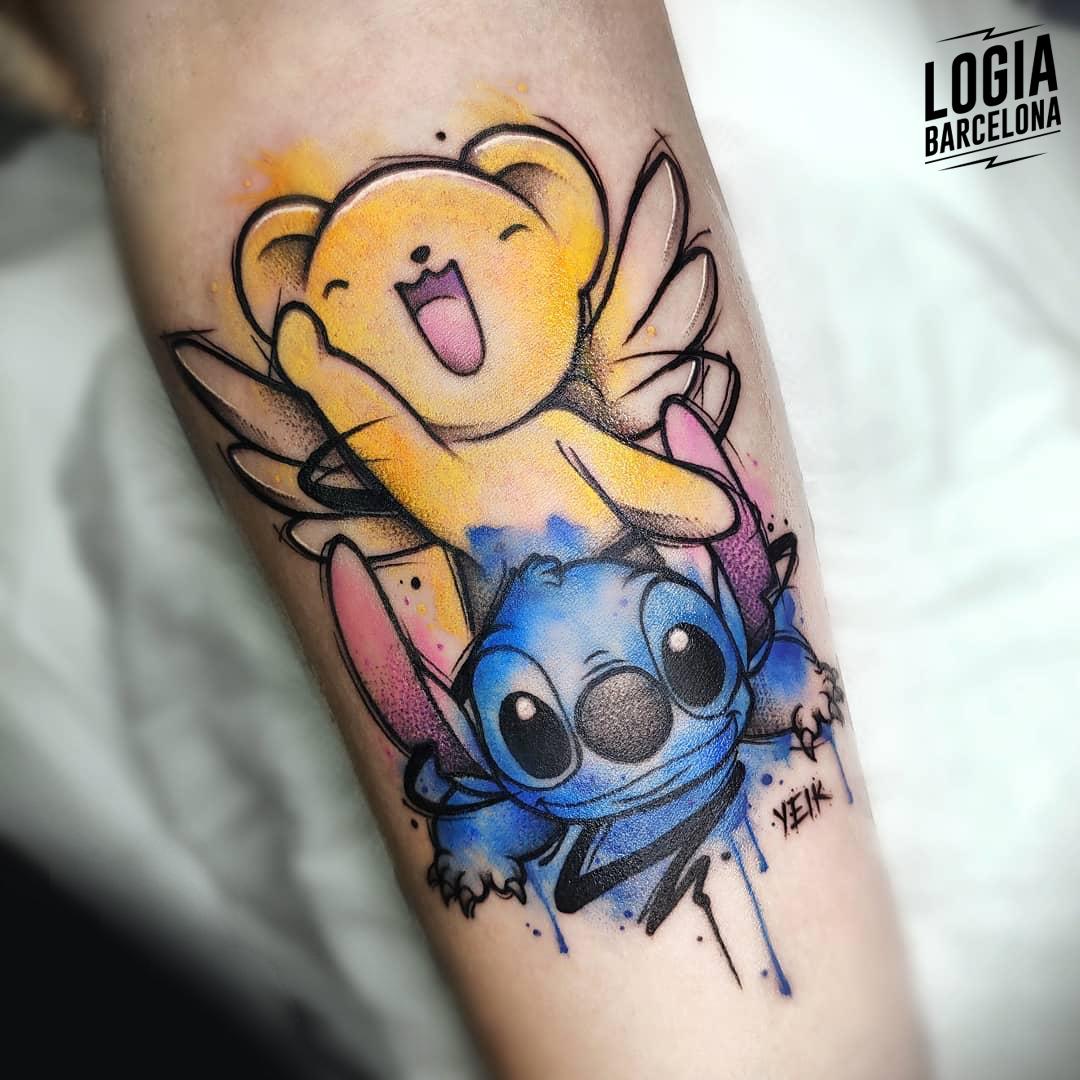 tatuaje_pierna_stitch_disney_logia_barcelona_yeik