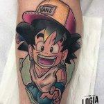 Tatuajes de Goku