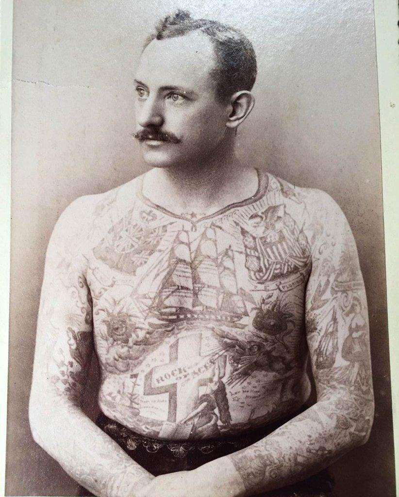 Martin Hildebrandt tattoo tradi