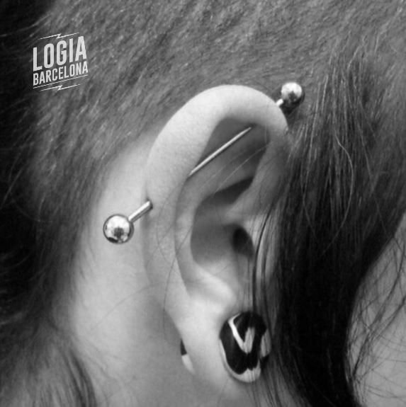 Piercing industrial, ¿te atreves?