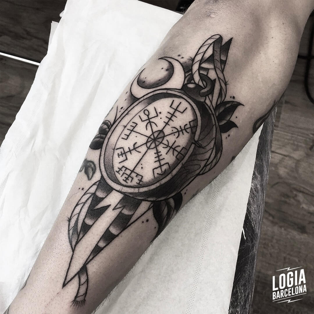 Viking Simbology Tattoos Logia Tattoo Barcelona