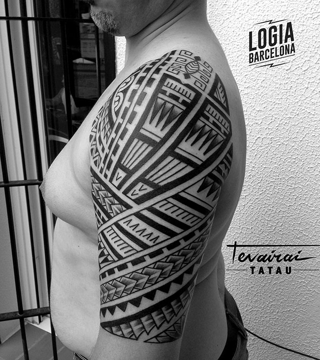 tatuaje maori Logia Barcelona Tevairai