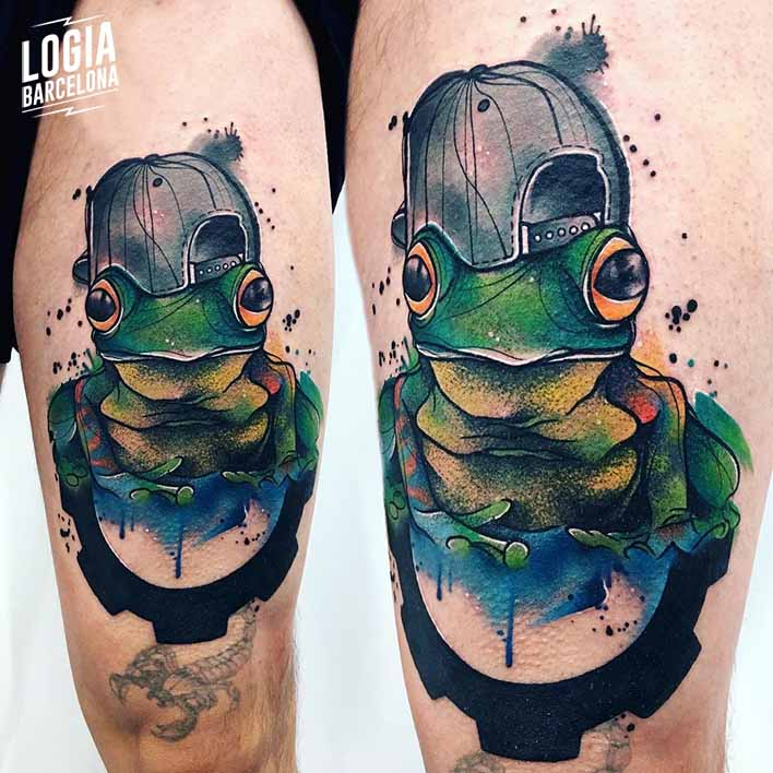 tatuaje rana Monika Ochman Logia Barcelona