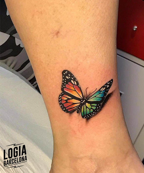 tatuajes simbolizan cambios mariposa Logia Barcelona